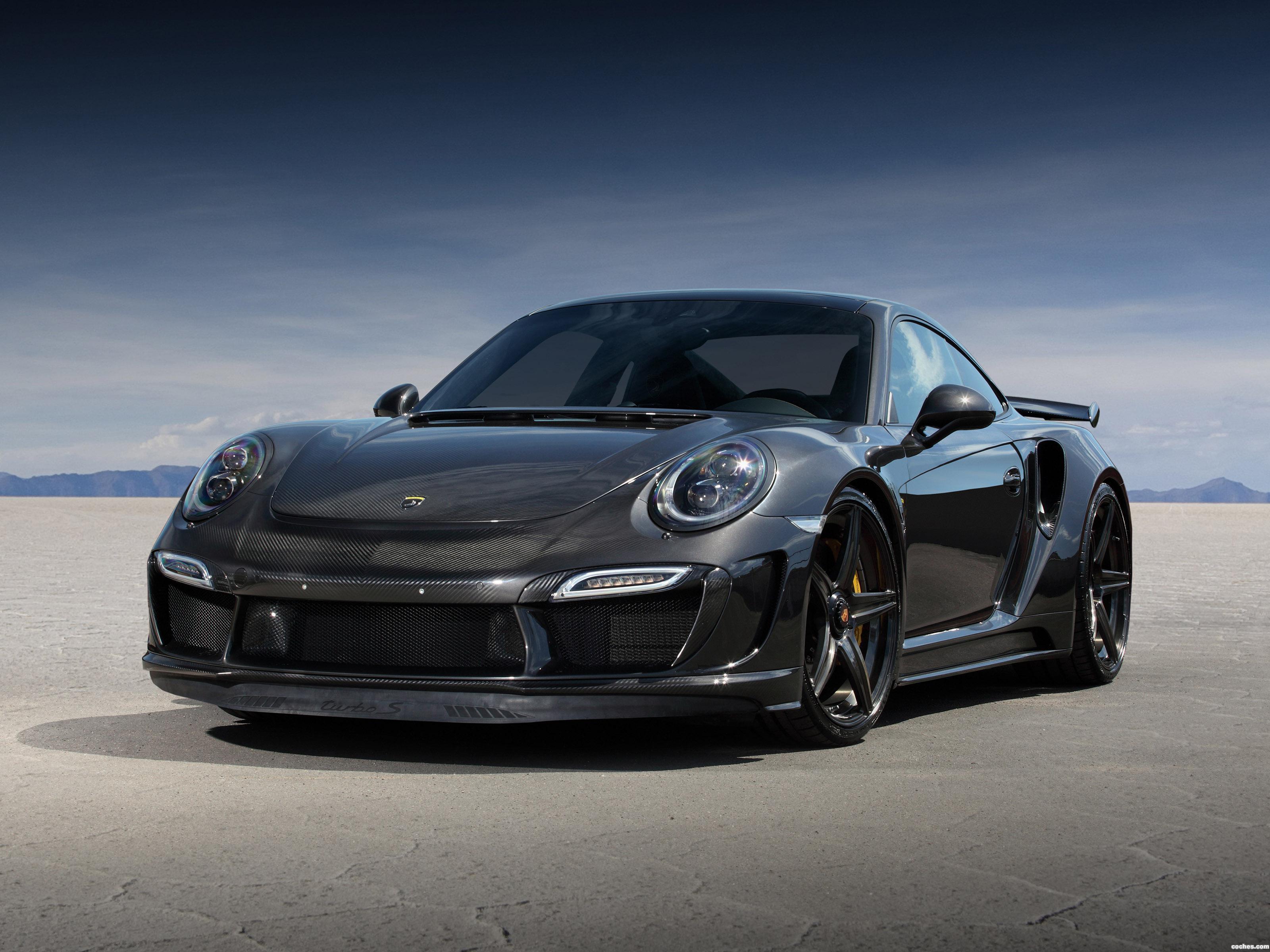 Foto 0 de Topcar Porsche 911 Turbo Stinger GTR Carbon Edition 991 2015