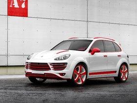 Ver foto 2 de Topcar Porsche Cayenne Vantage 2 Red Dracon 958 2013