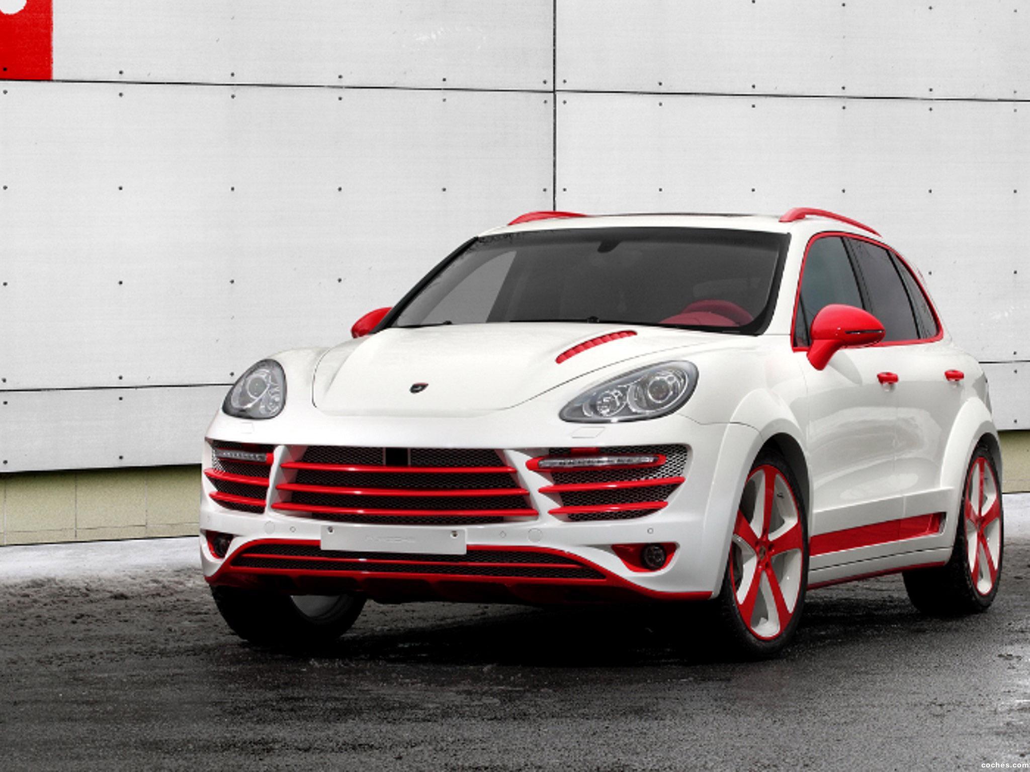 Foto 0 de Topcar Porsche Cayenne Vantage 2 Red Dracon 958 2013