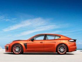 Ver foto 4 de Topcar Porsche Panamera Stingray GTR Orange 2012