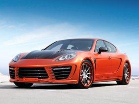 Fotos de Topcar Porsche Panamera Stingray GTR Orange 2012