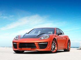 Ver foto 8 de Topcar Porsche Panamera Stingray GTR Orange 2012