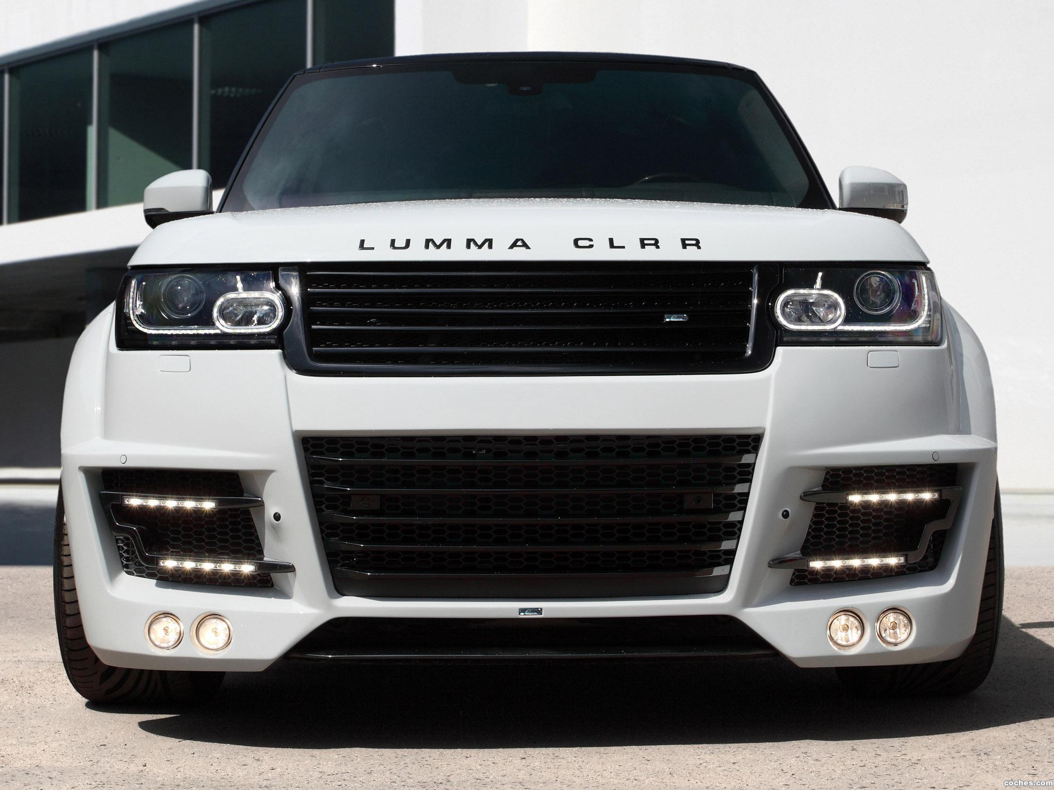 Foto 2 de Topcar Land Rover Range Rover Lumma CLR R L405 2013
