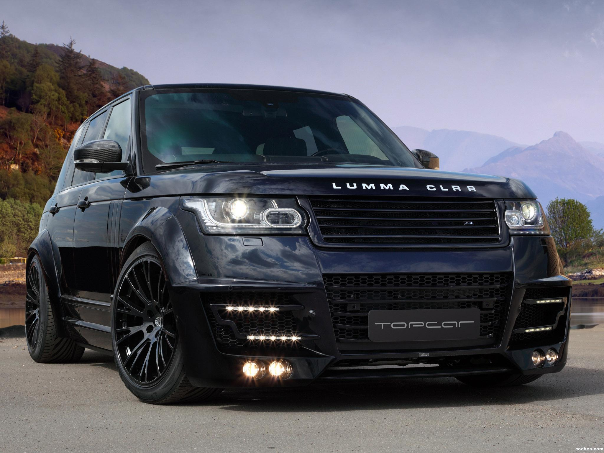 Foto 0 de Topcar Land Rover Range Rover Lumma CLR R L405 2013