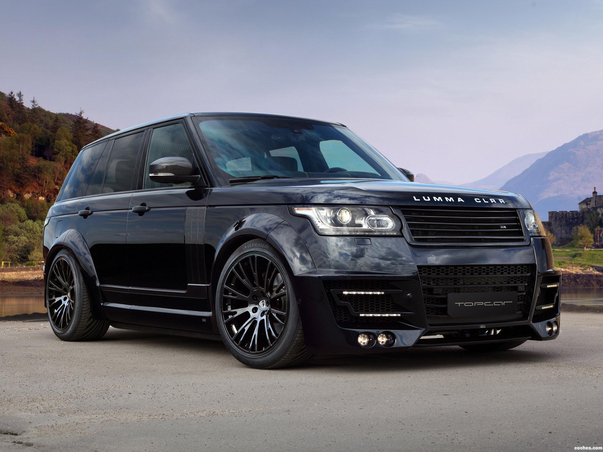Foto 11 de Topcar Land Rover Range Rover Lumma CLR R L405 2013