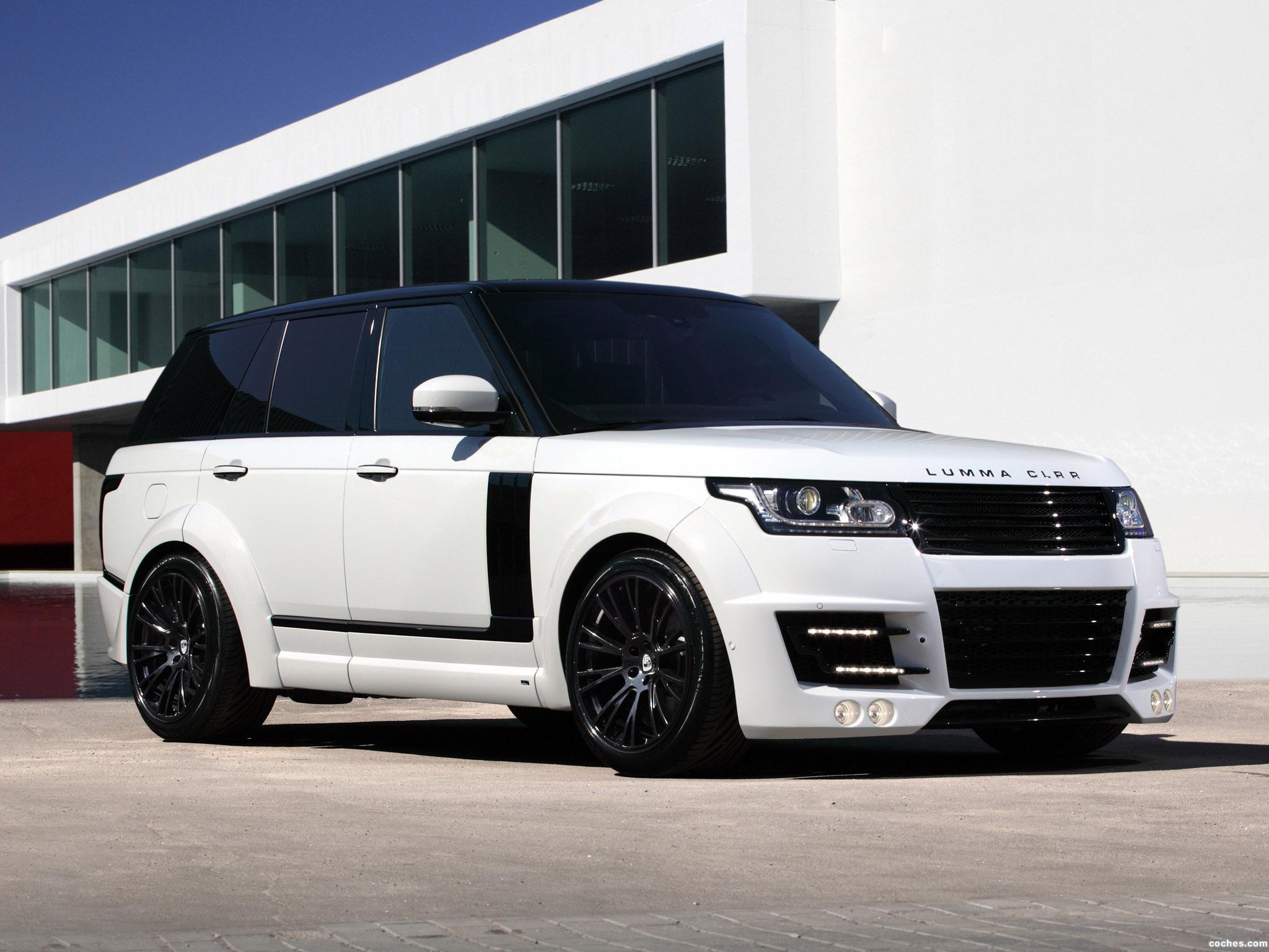 Foto 10 de Topcar Land Rover Range Rover Lumma CLR R L405 2013