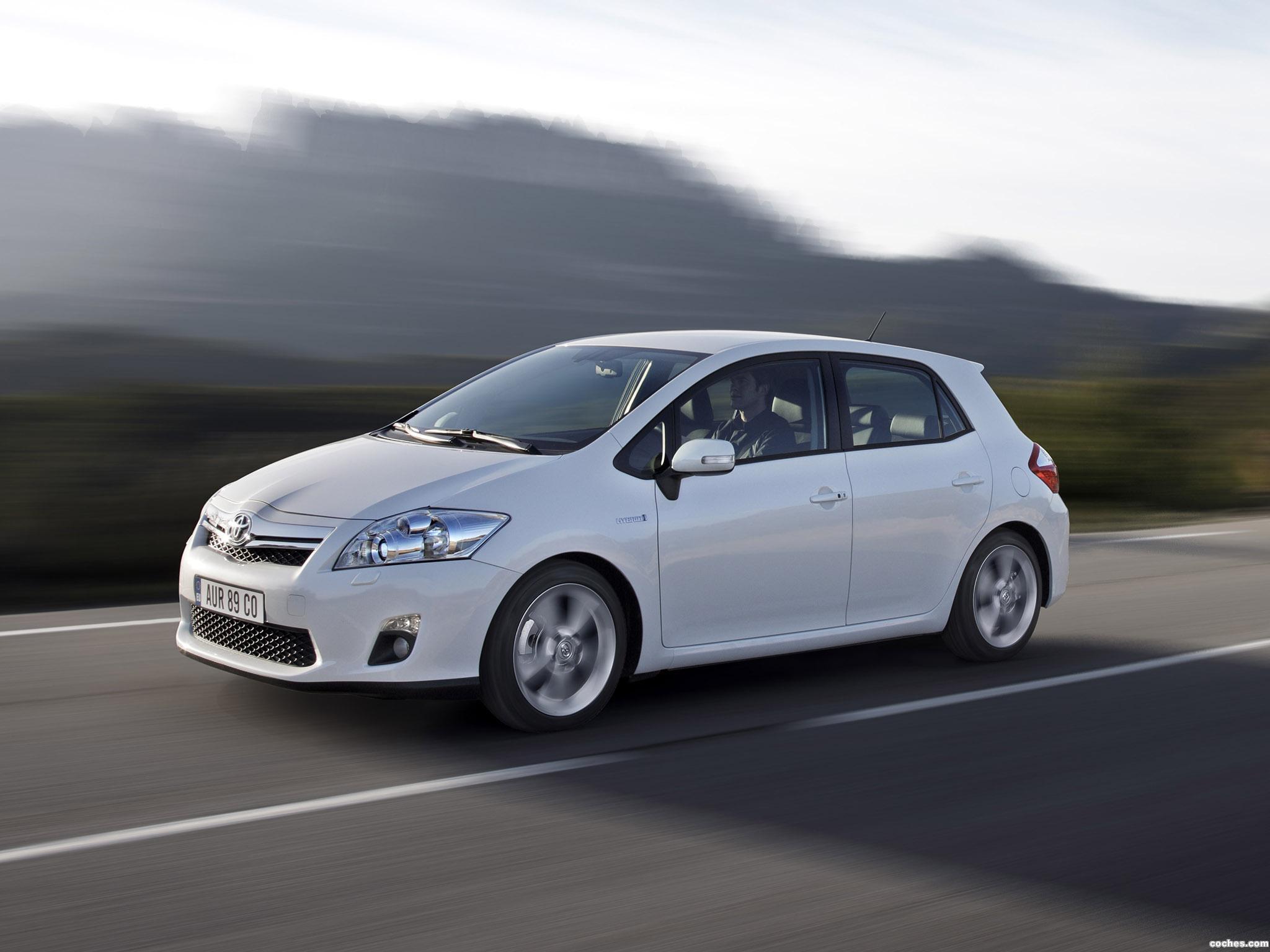 Foto 27 de Toyota Auris HSD 2010