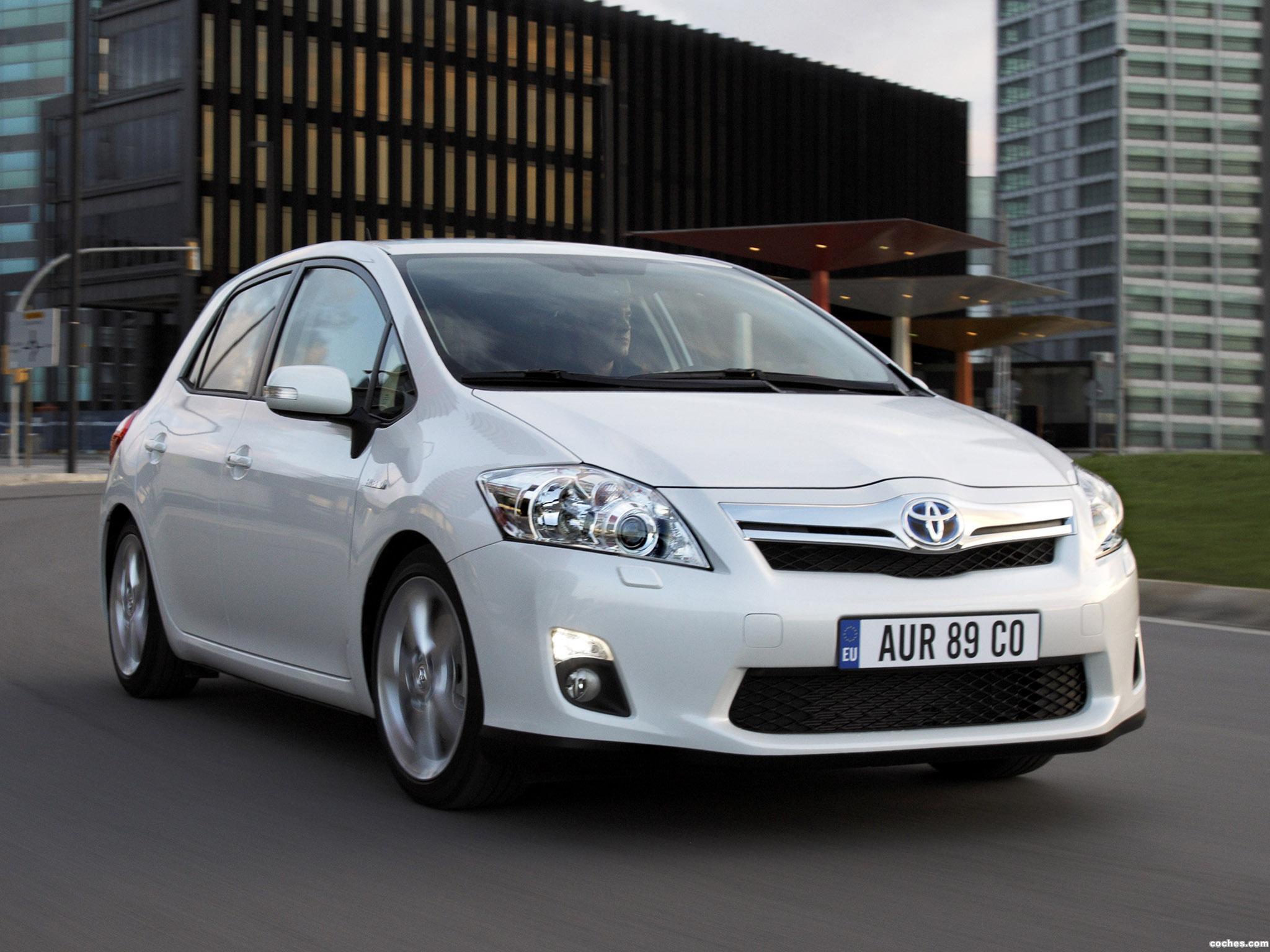 Foto 17 de Toyota Auris HSD 2010