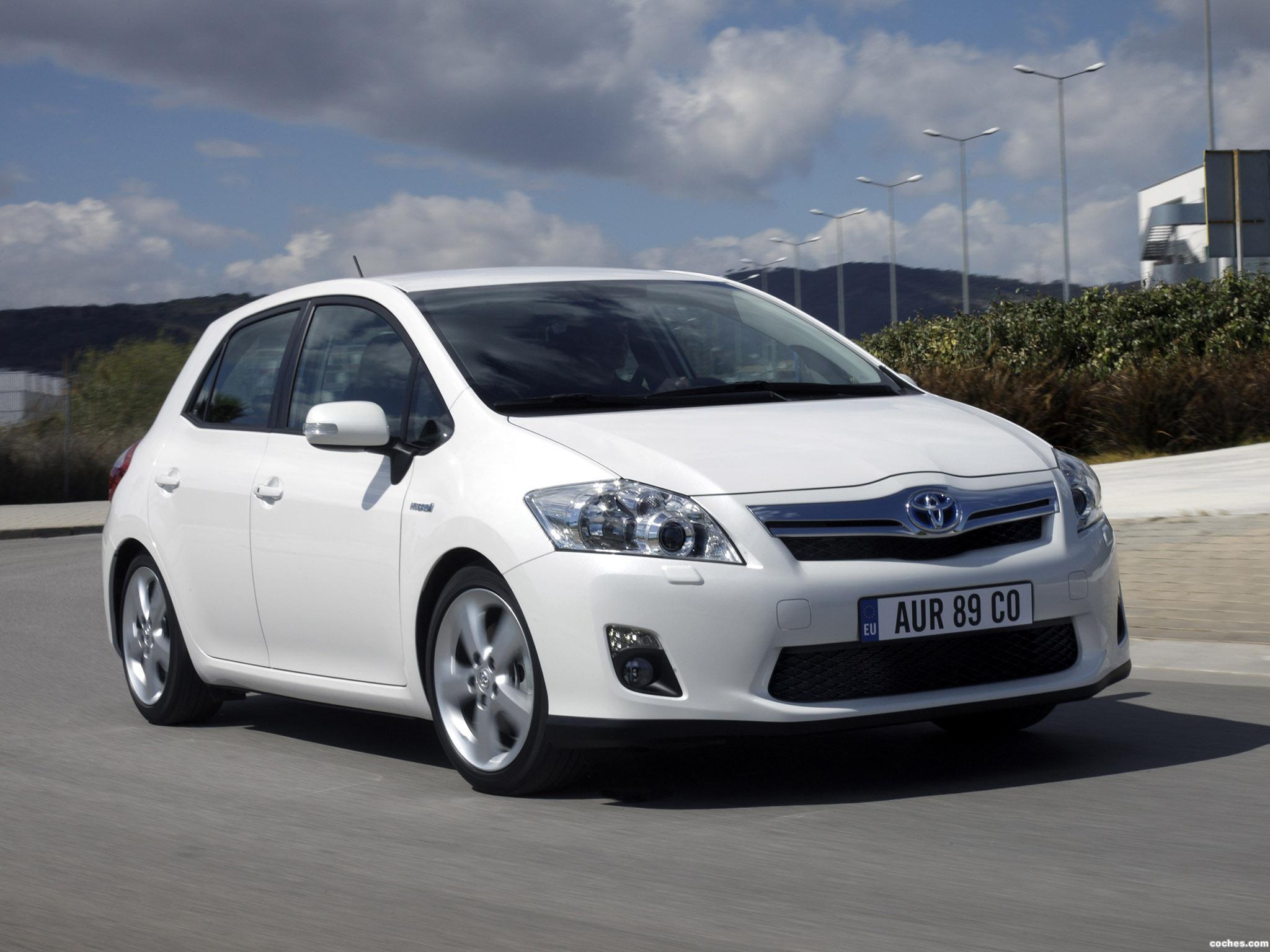 Foto 14 de Toyota Auris HSD 2010