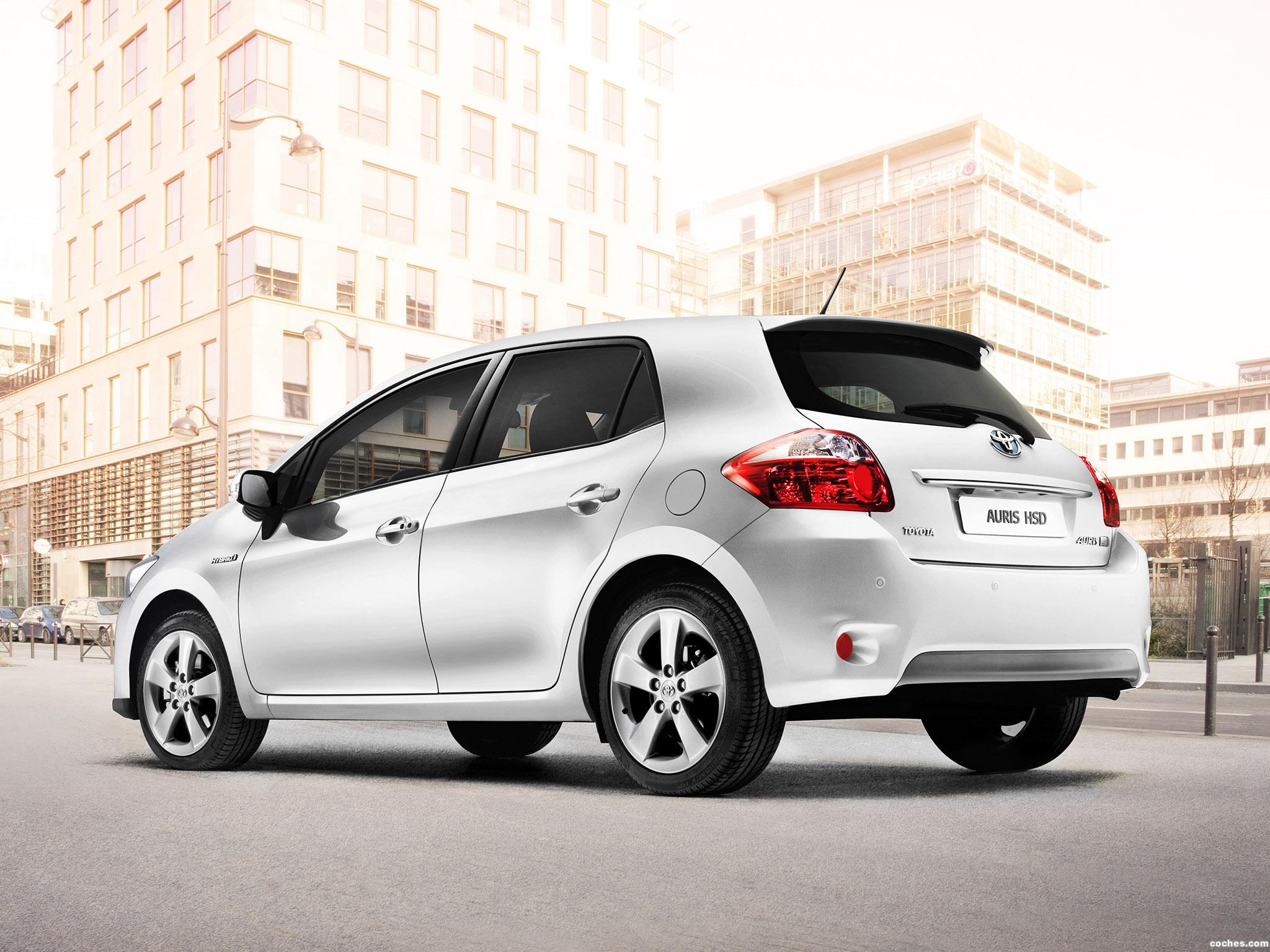Foto 3 de Toyota Auris HSD 2010