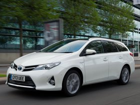Ver foto 8 de Toyota Auris Touring Sports Hybrid UK 2013