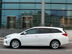 Ver foto 7 de Toyota Auris Touring Sports Hybrid UK 2013