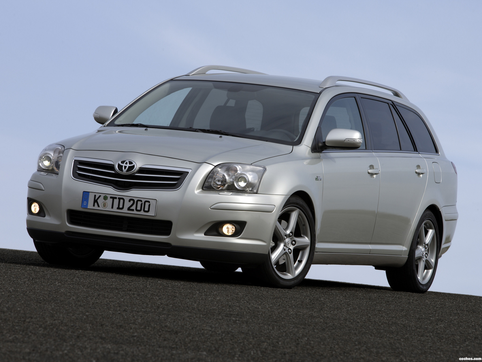 2007 toyota avensis 2 4 related infomation specifications weili automotive network. Black Bedroom Furniture Sets. Home Design Ideas