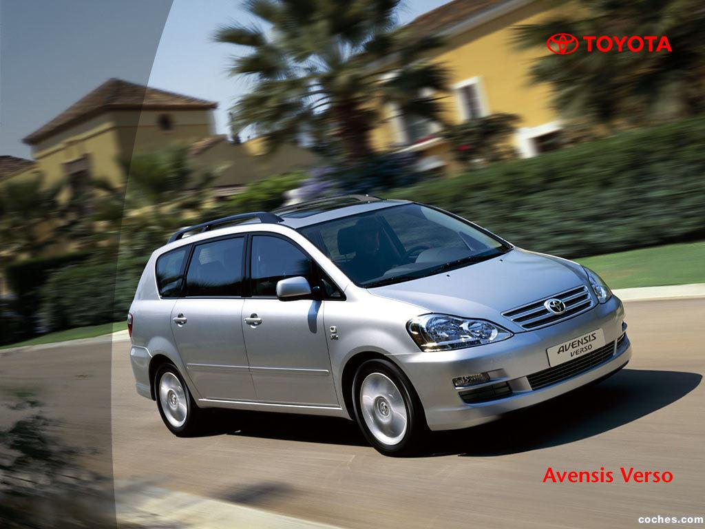 Foto 0 de Toyota Avensis Verso 2001