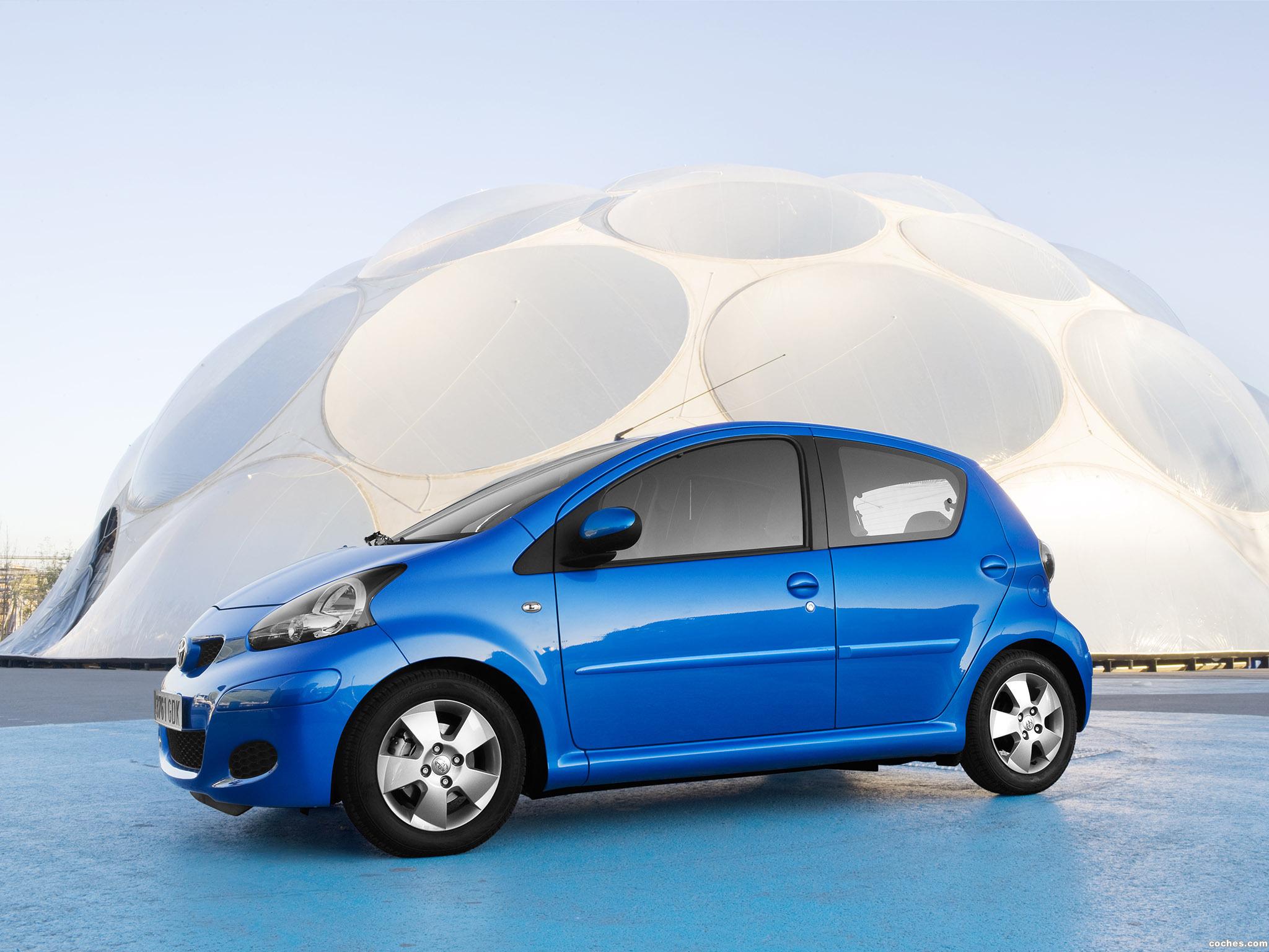 Foto 8 de Toyota Aygo Facelift 2009