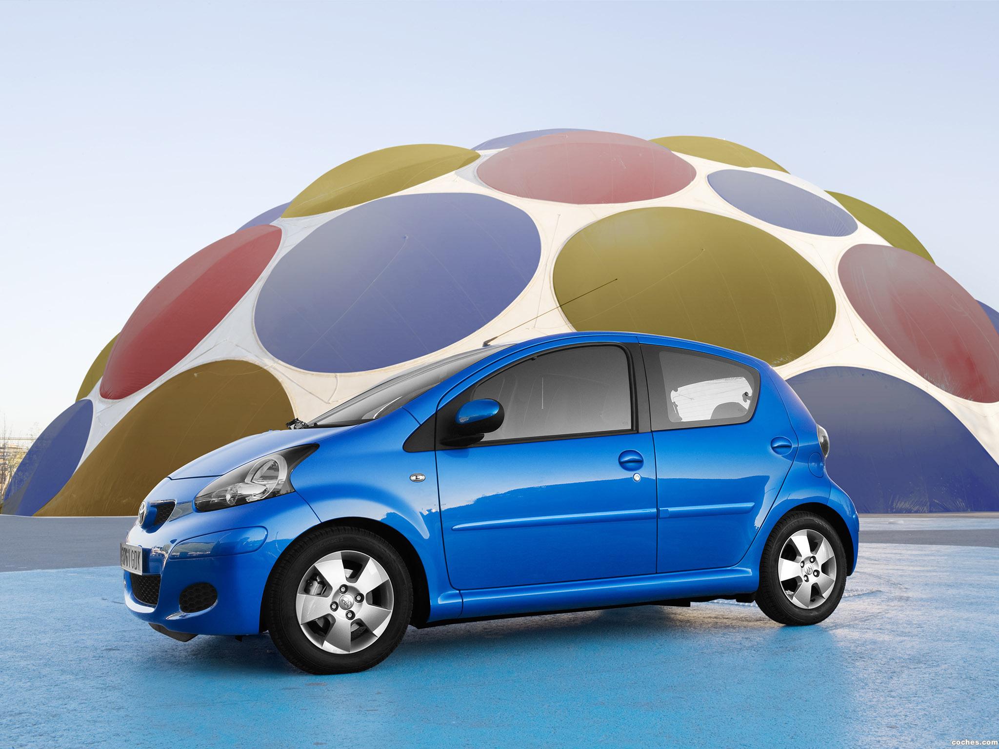 Foto 1 de Toyota Aygo Facelift 2009