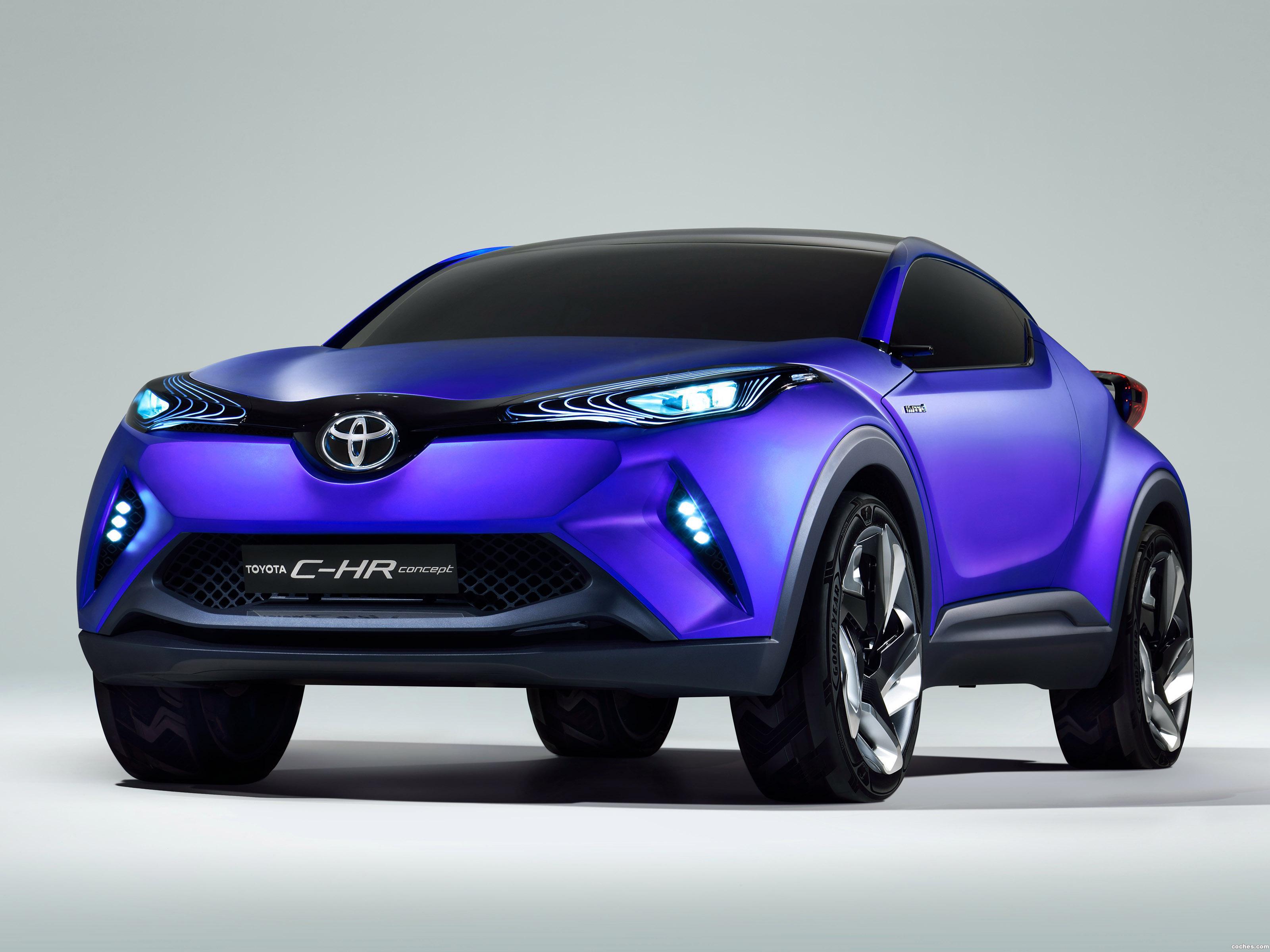 Foto 0 de Toyota C-HR Concept 2014