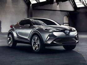 Ver foto 8 de Toyota C-HR Concept 2015