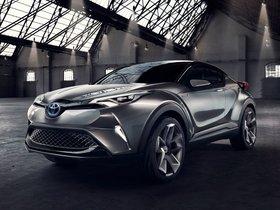 Ver foto 7 de Toyota C-HR Concept 2015