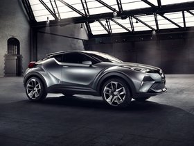 Ver foto 2 de Toyota C-HR Concept 2015