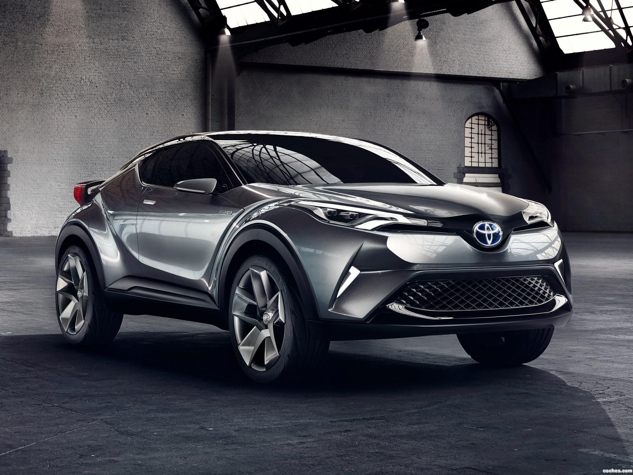 Foto 7 de Toyota C-HR Concept 2015