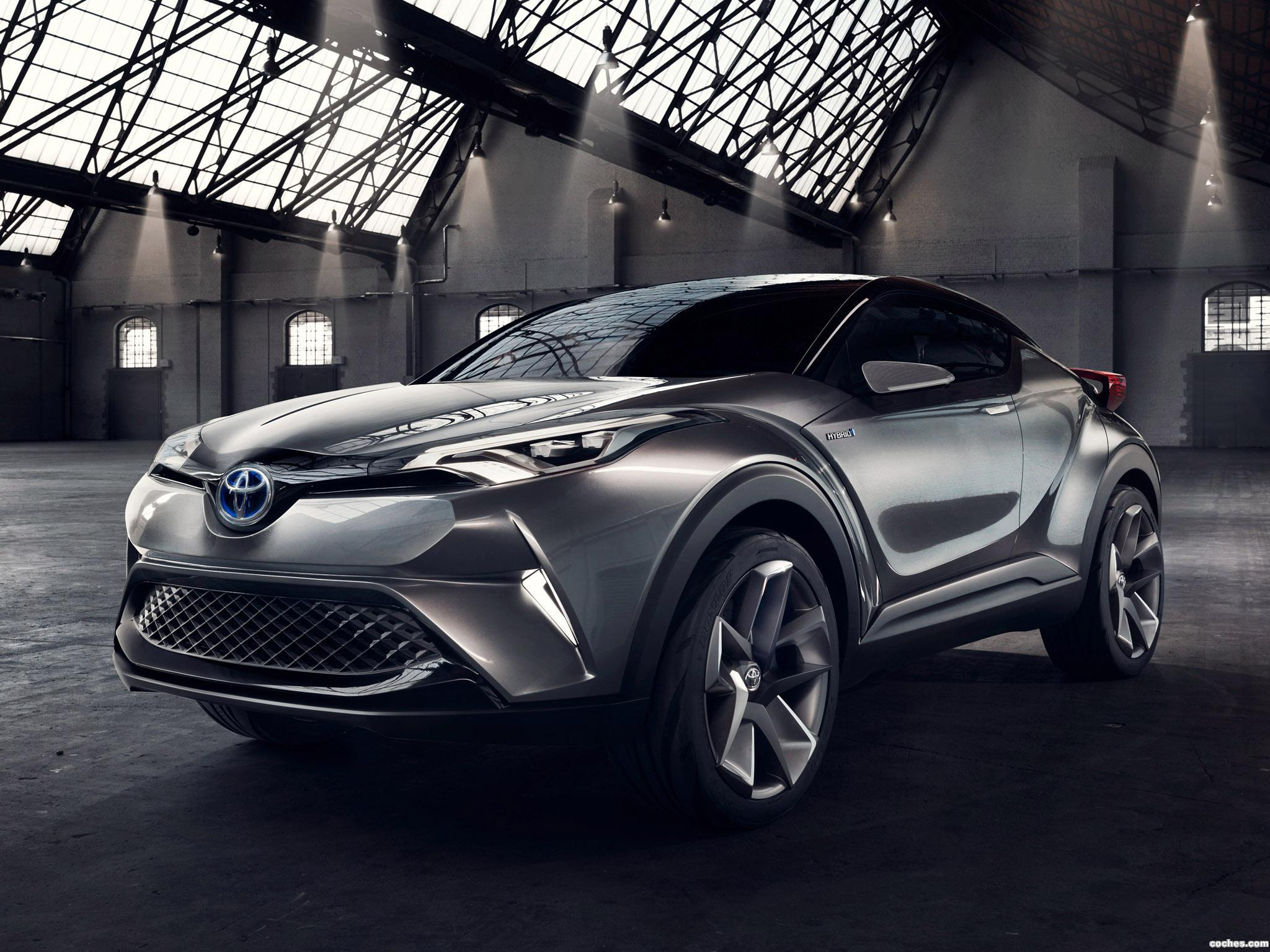 Foto 6 de Toyota C-HR Concept 2015
