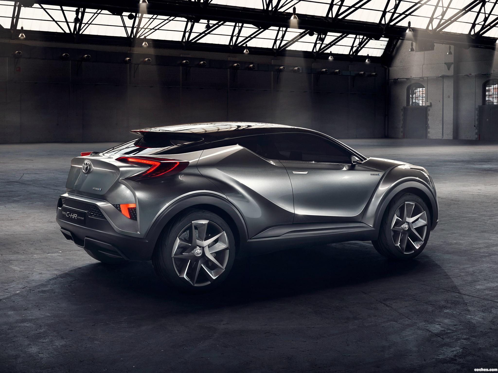 Foto 5 de Toyota C-HR Concept 2015