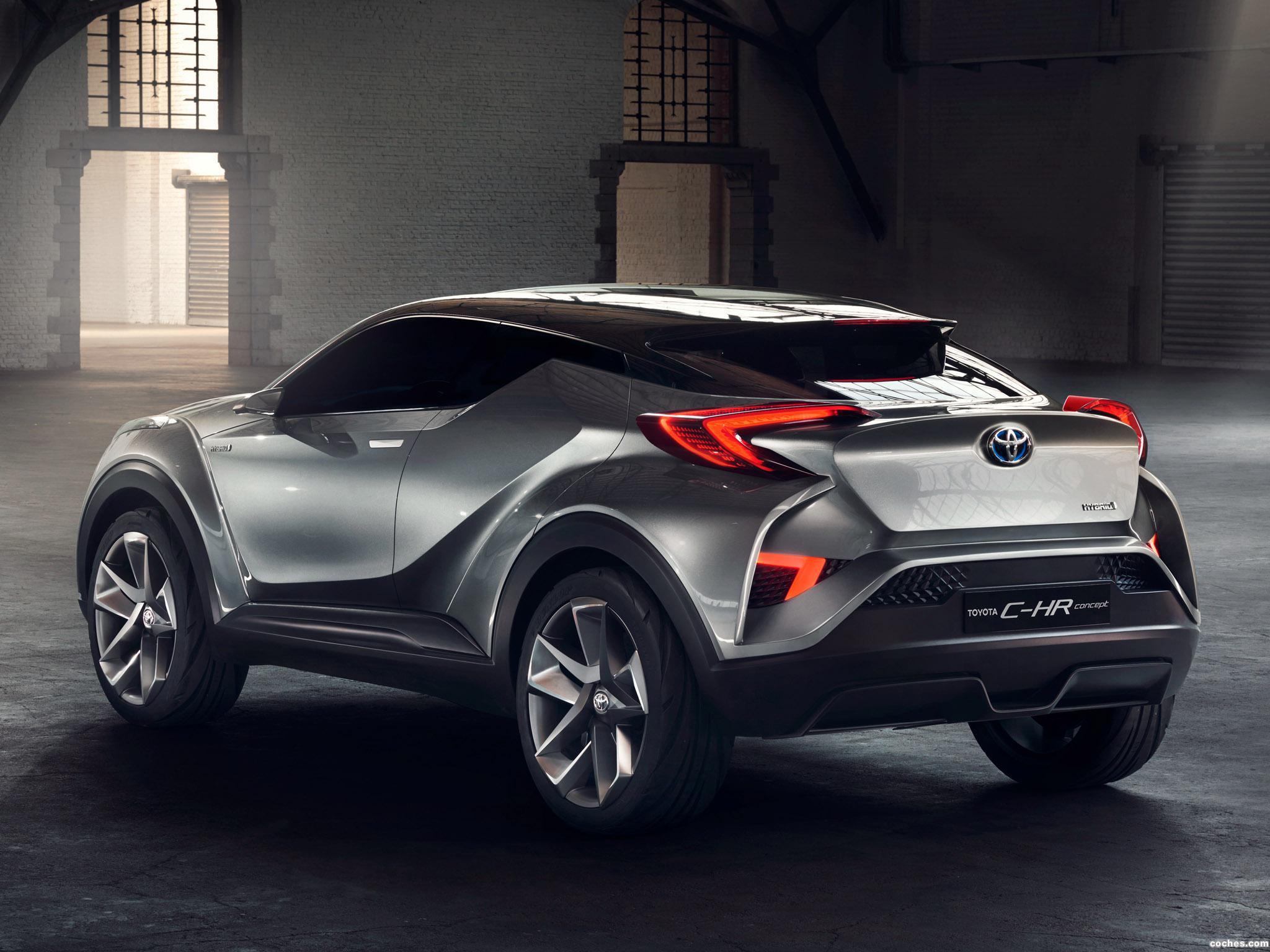 Foto 3 de Toyota C-HR Concept 2015