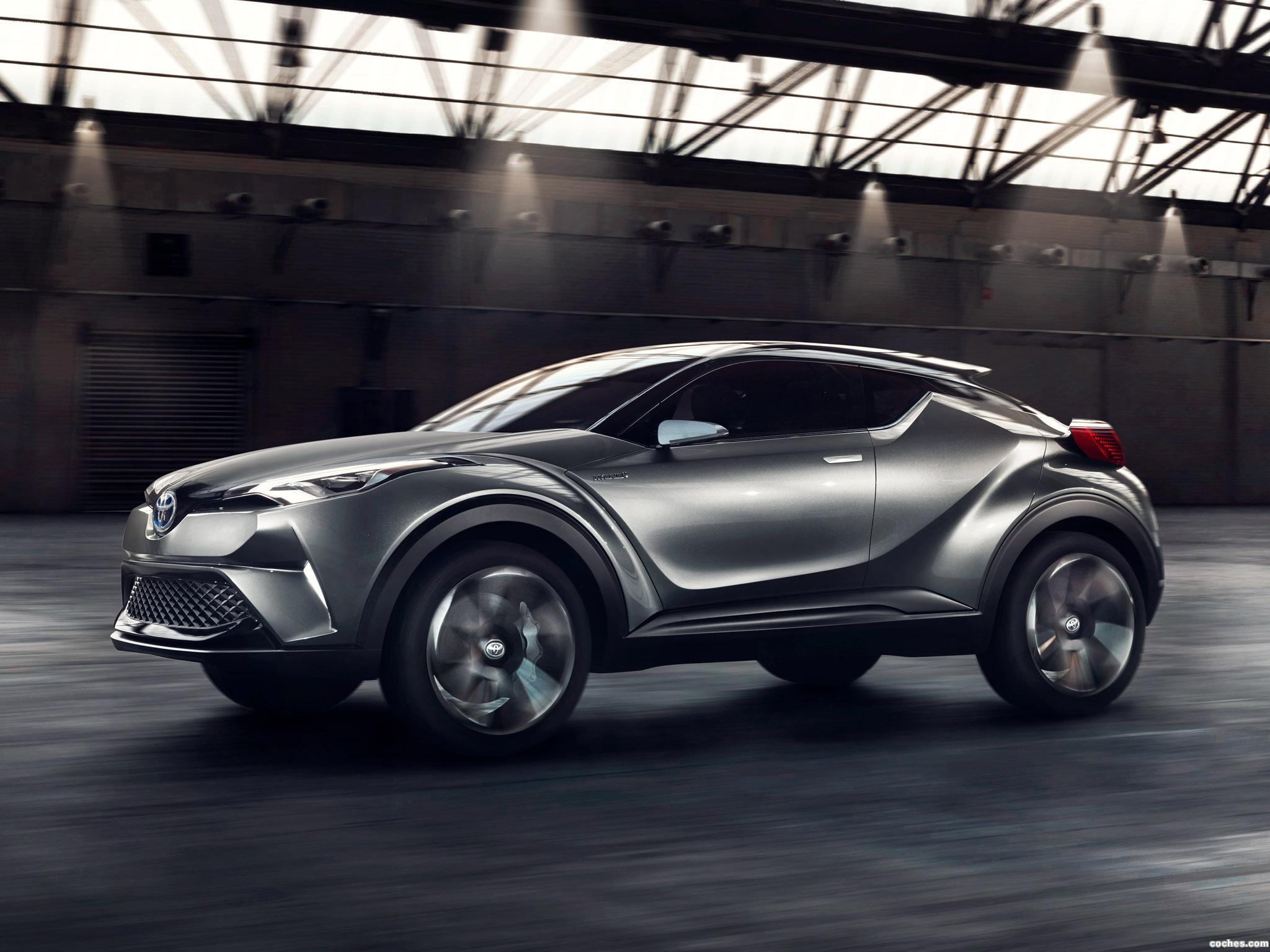Foto 2 de Toyota C-HR Concept 2015