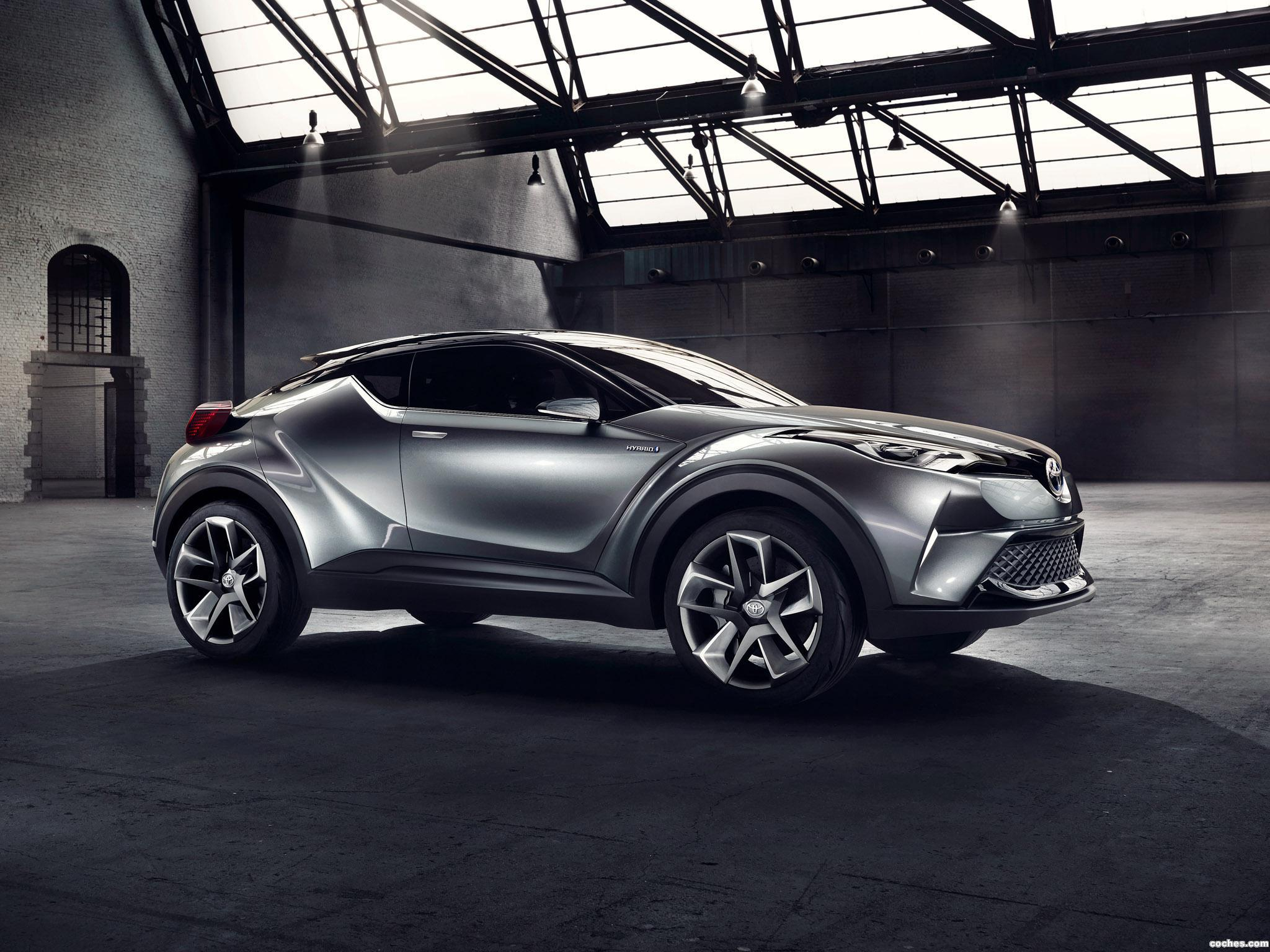 Foto 1 de Toyota C-HR Concept 2015