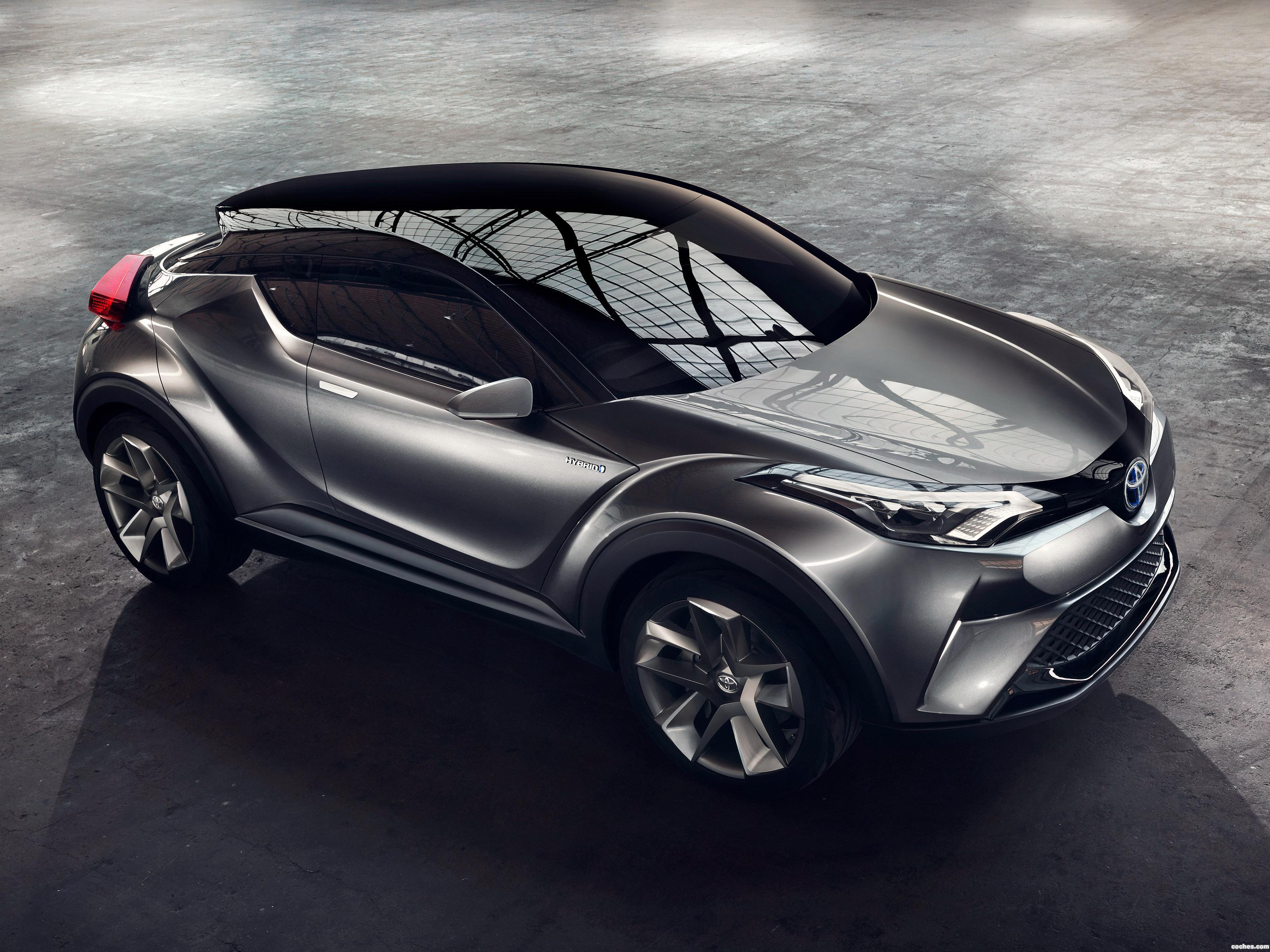 Foto 0 de Toyota C-HR Concept 2015