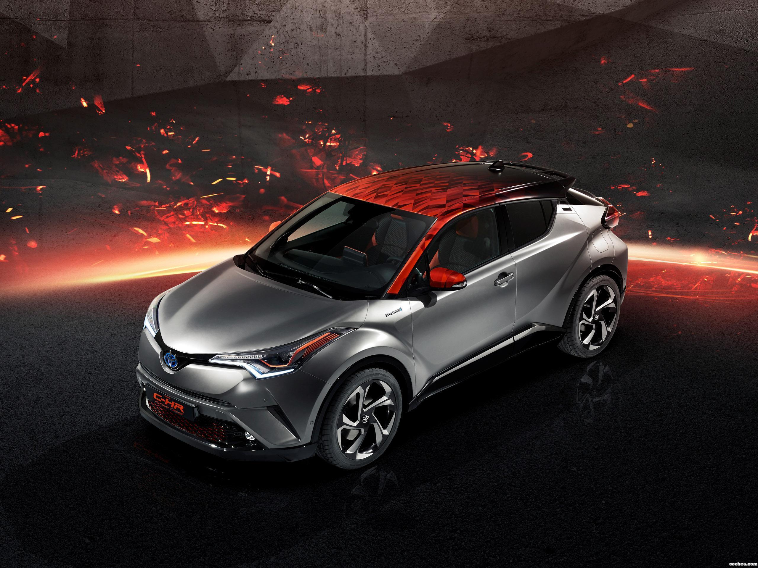 Foto 7 de Toyota C-HR Hy Power Concept  2017