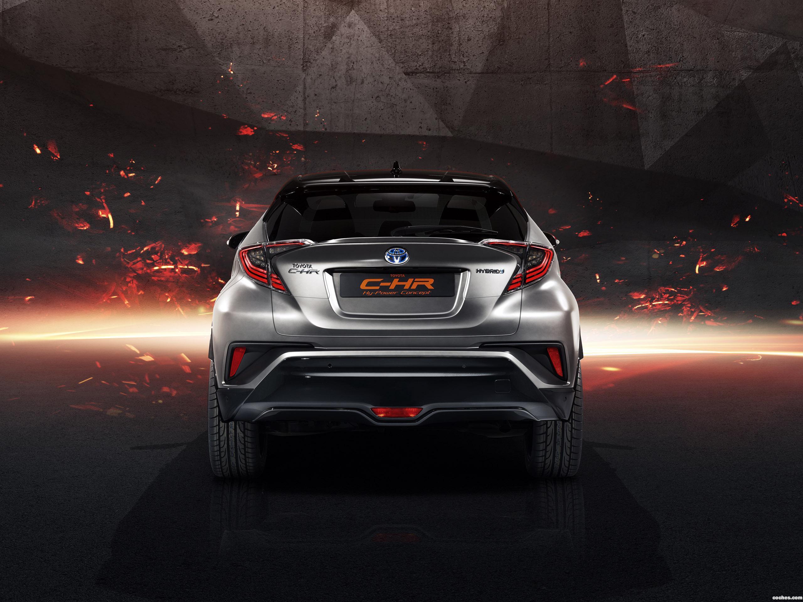 Foto 3 de Toyota C-HR Hy Power Concept  2017