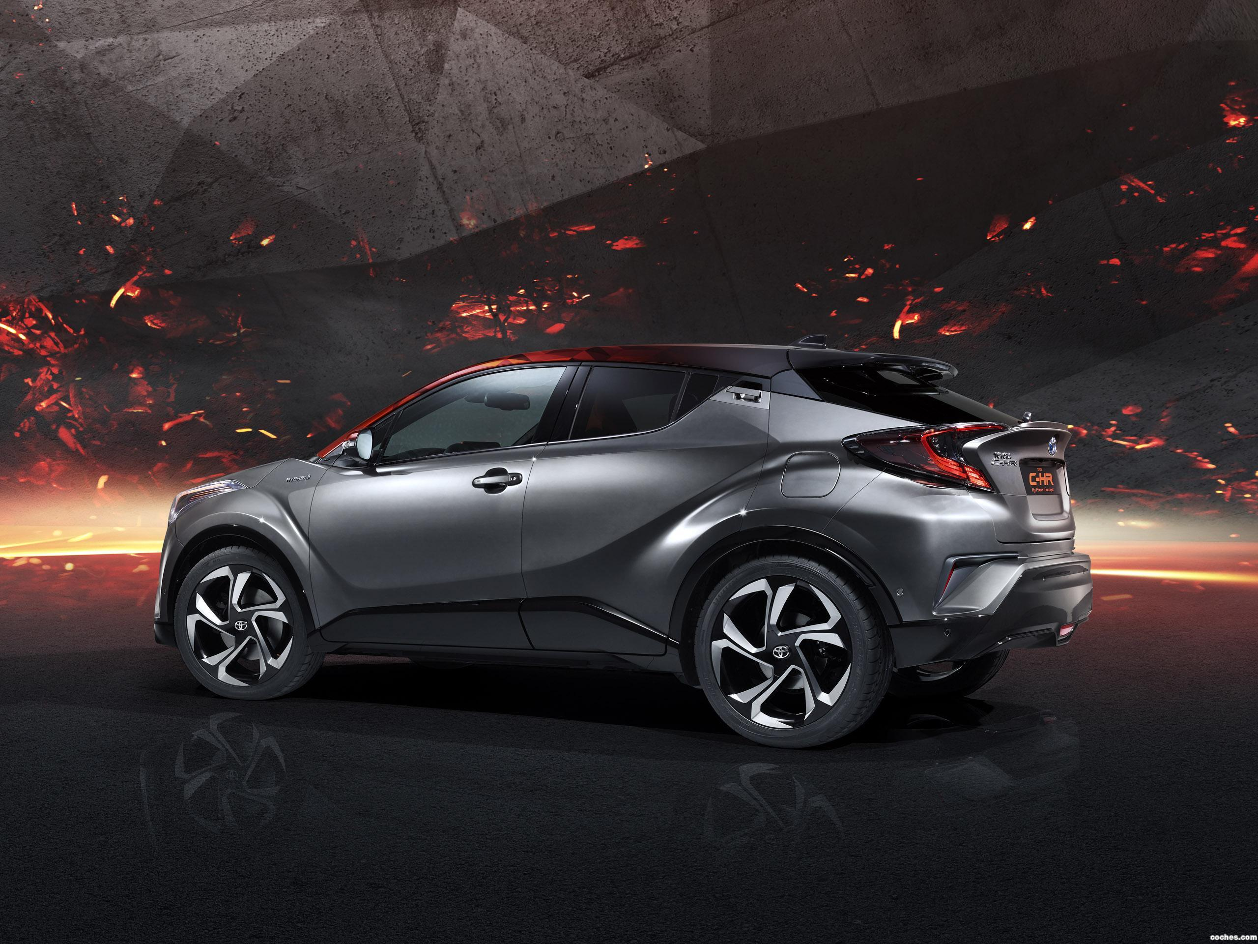 Foto 2 de Toyota C-HR Hy Power Concept  2017