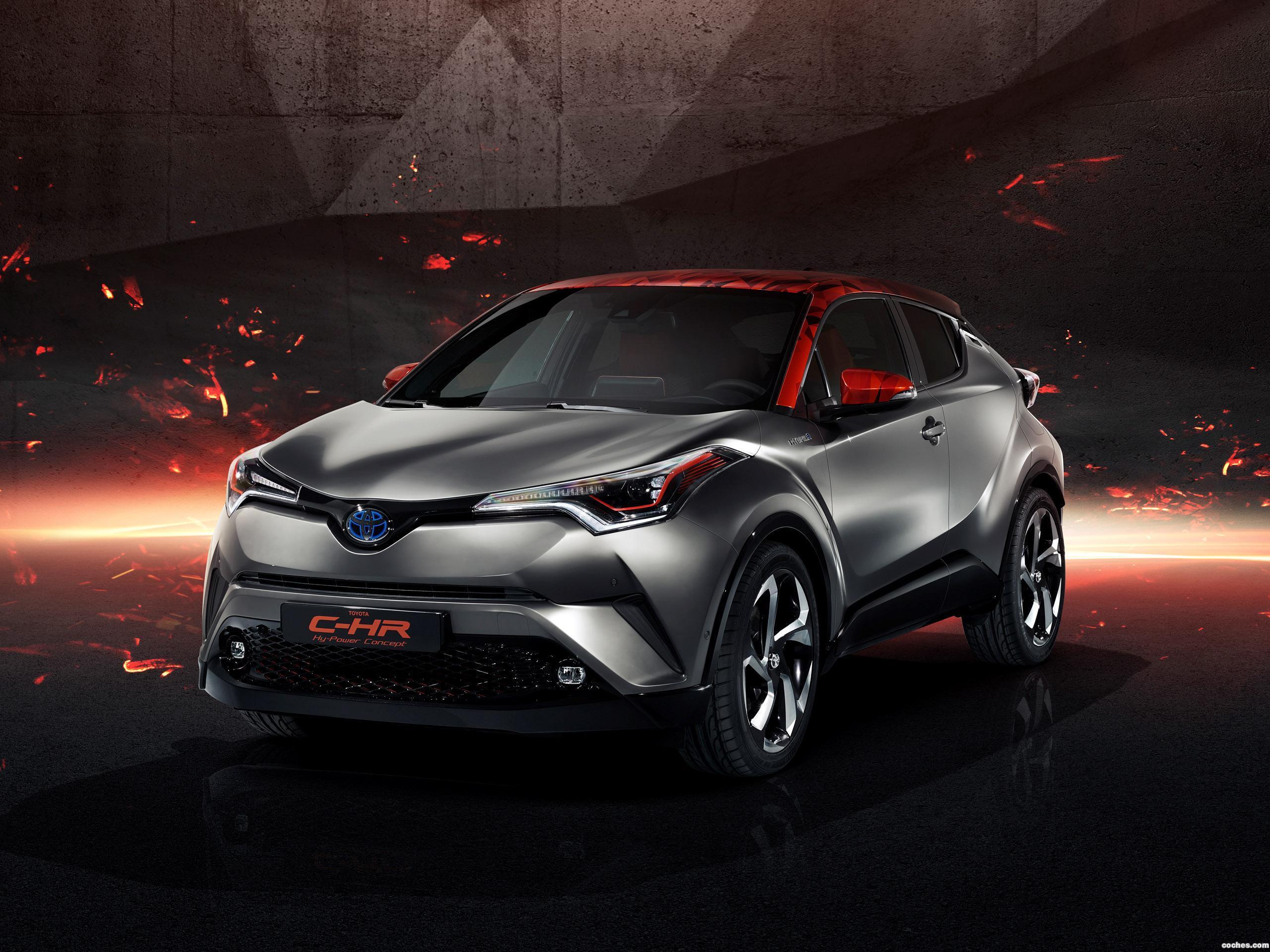 Foto 0 de Toyota C-HR Hy Power Concept  2017
