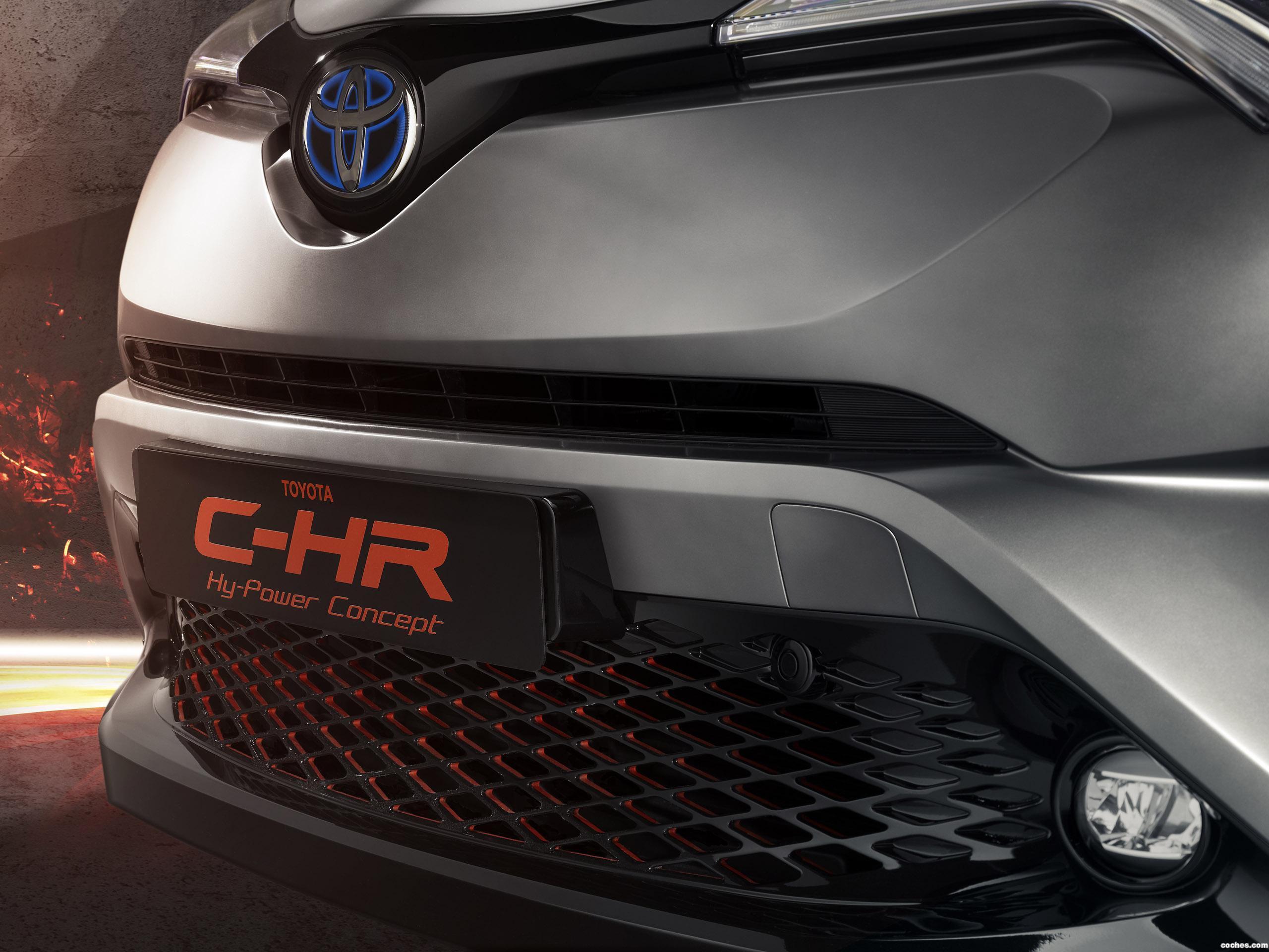 Foto 14 de Toyota C-HR Hy Power Concept  2017