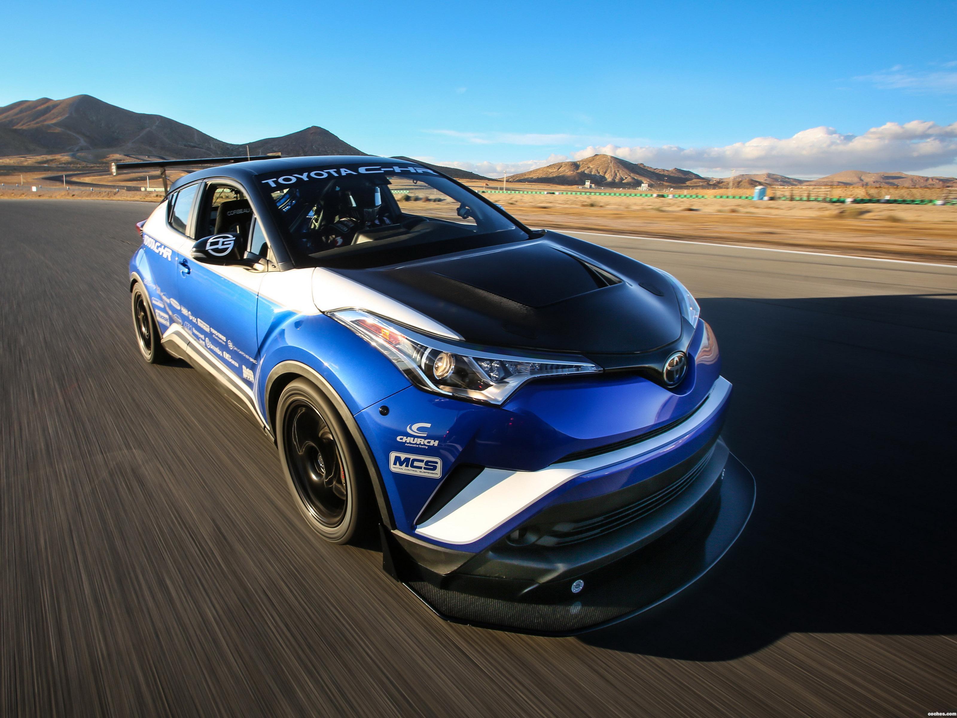 Foto 0 de Toyota C-HR R Tuned Concept  2017