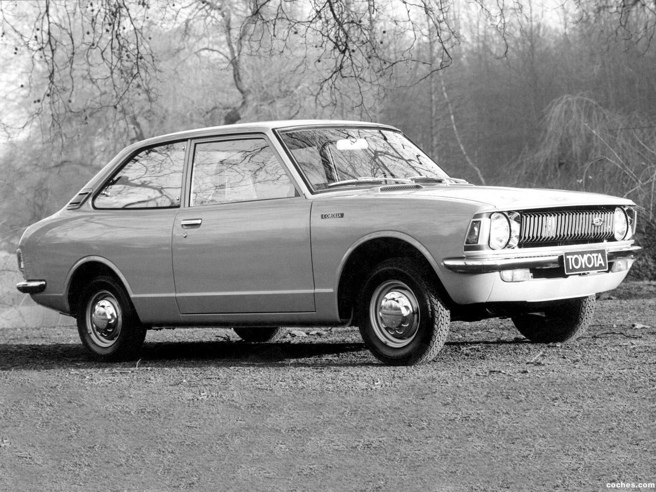 Foto 0 de Toyota Corolla 2 puertas Sedan 1970