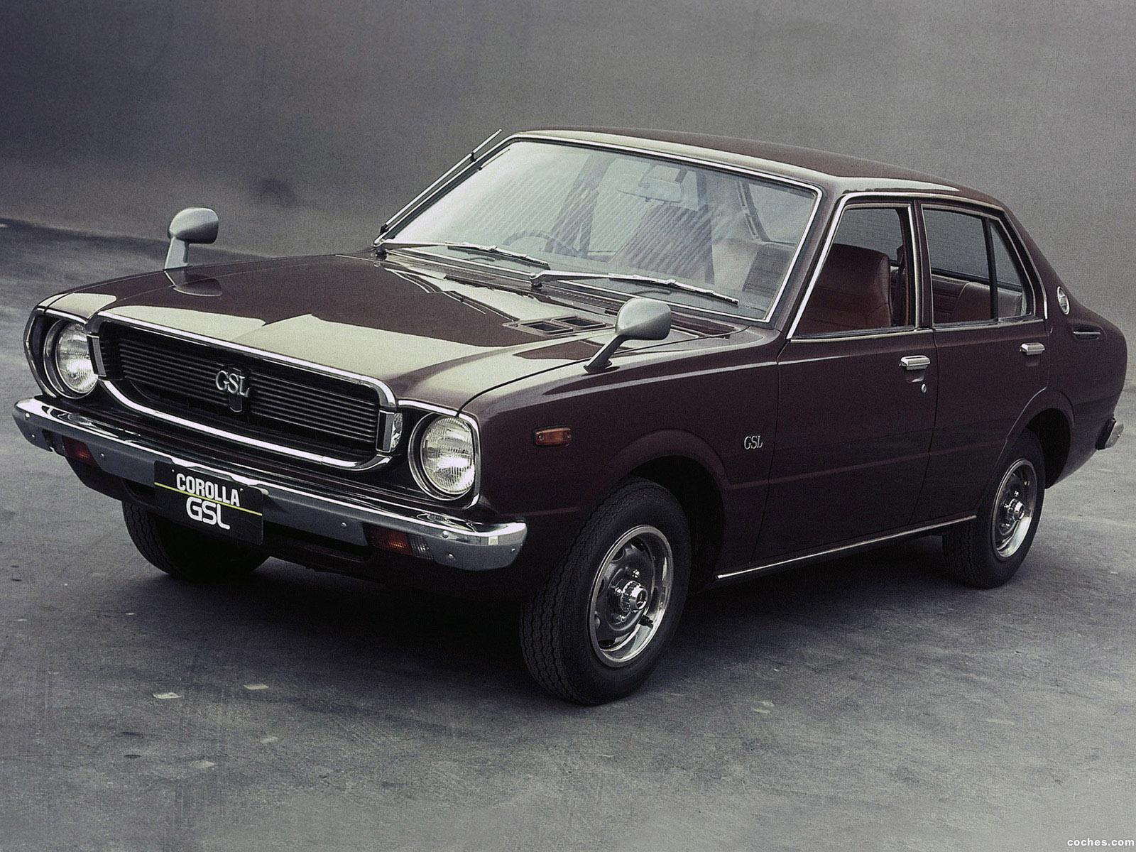 Foto 0 de Toyota Corolla 4 puertas Sedan E31 1974