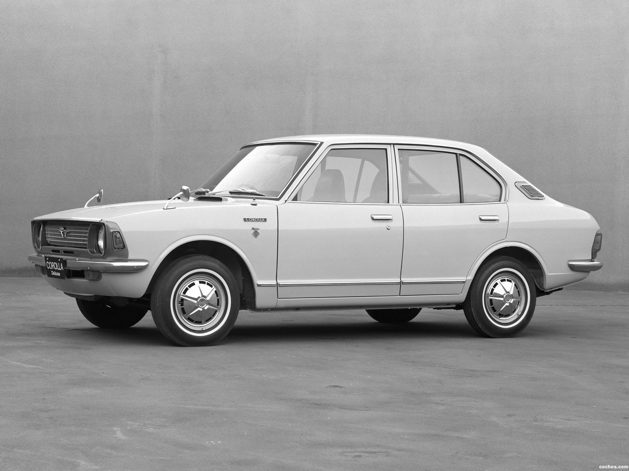 Foto 0 de Toyota Corolla 4 puertas Sedan KE20 Japan 1970