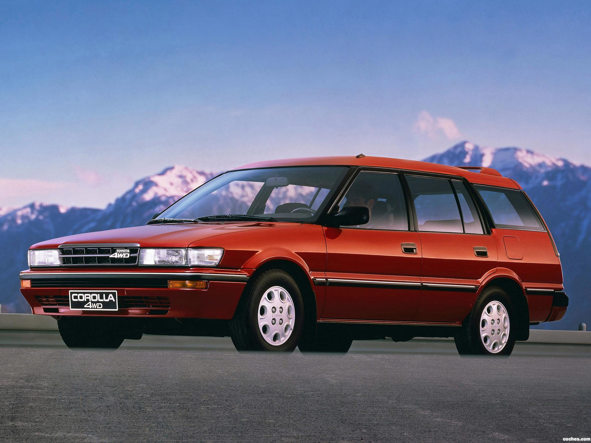 Foto 0 de Toyota Corolla 4WD Wagon AE95 1988