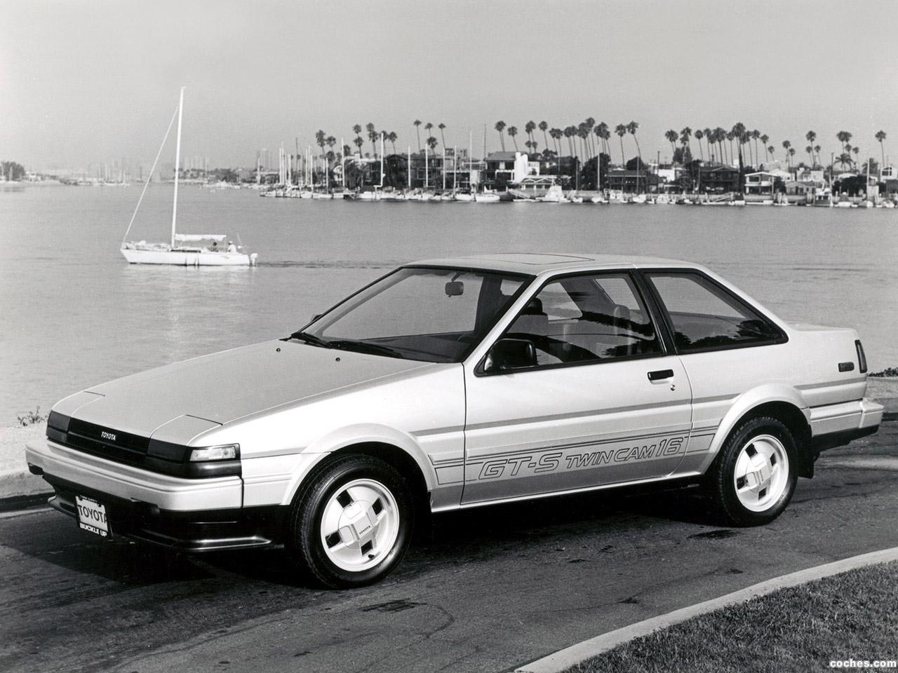 Foto 0 de Toyota Corolla GT-S Sport Coupe AE86 1985