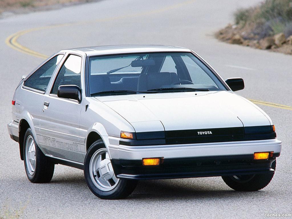Foto 0 de Toyota Corolla GT-S Sport Liftback AE86 1985