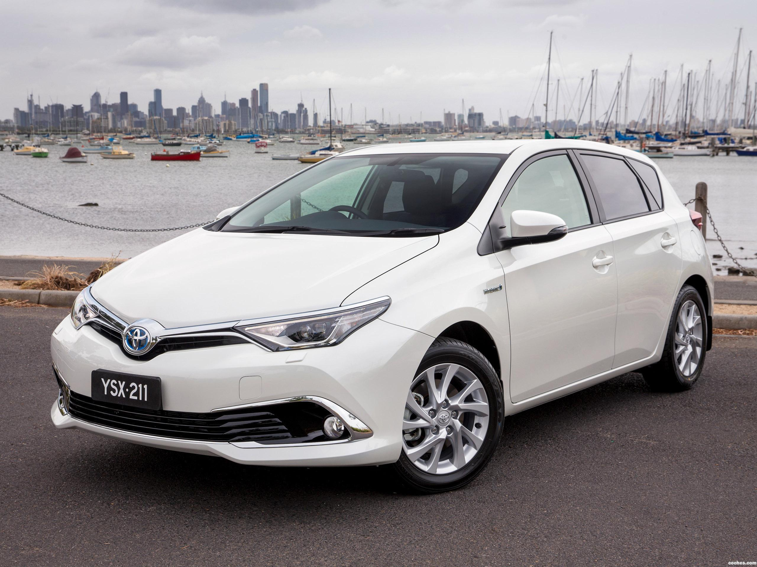 Foto 0 de Toyota Corolla Hybrid Australia 2016