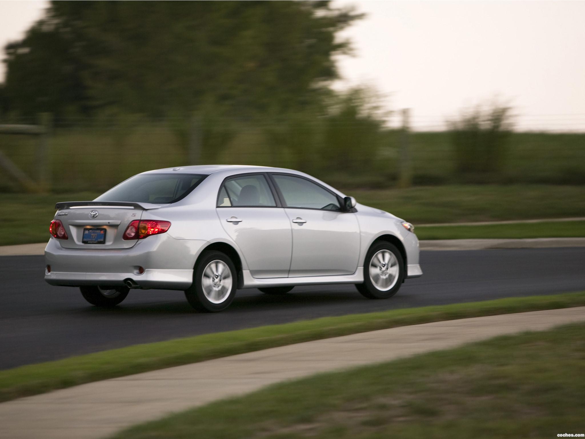 Foto 1 de Toyota Corolla S USA 2008