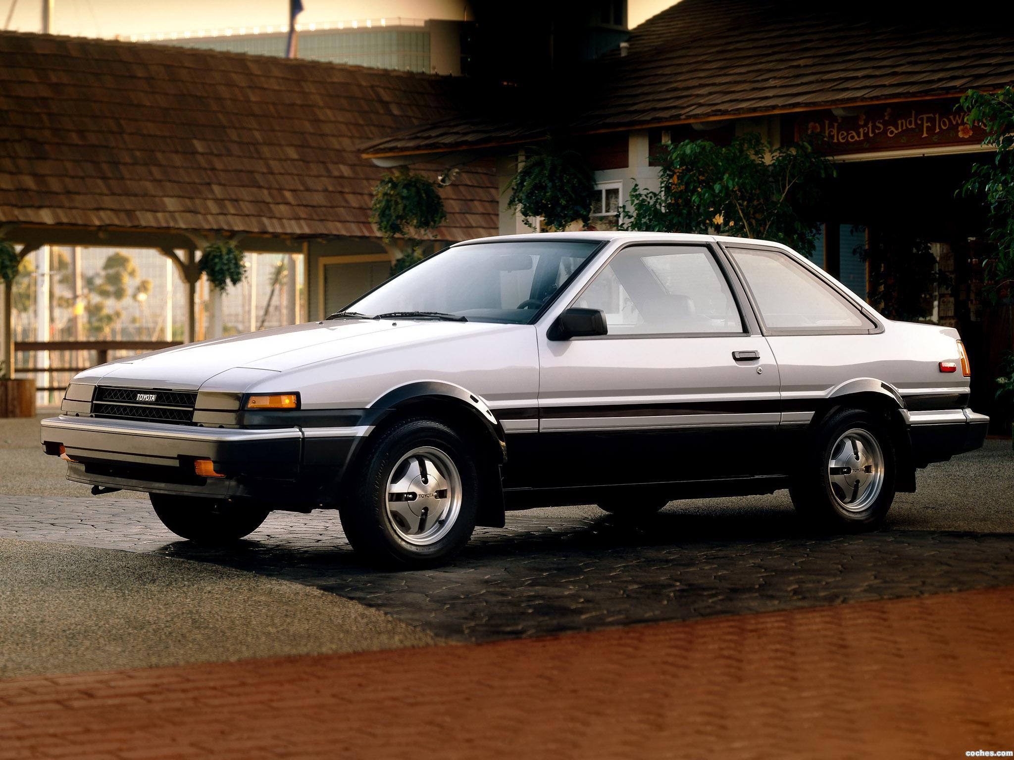 Foto 0 de Toyota Corolla SR5 Sport Coupe AE86 1984