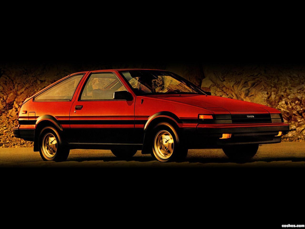 Foto 0 de Toyota Corolla SR5 Sport Liftback AE86 1984