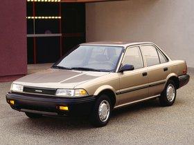 Ver foto 3 de Toyota Corolla Sedan Deluxe USA 1987
