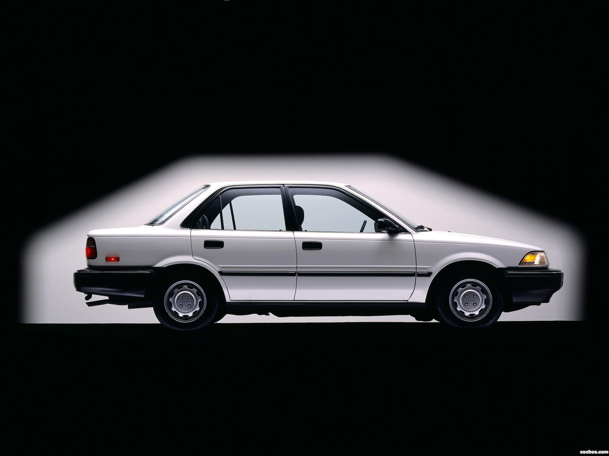Foto 3 de Toyota Corolla Sedan Deluxe USA 1987