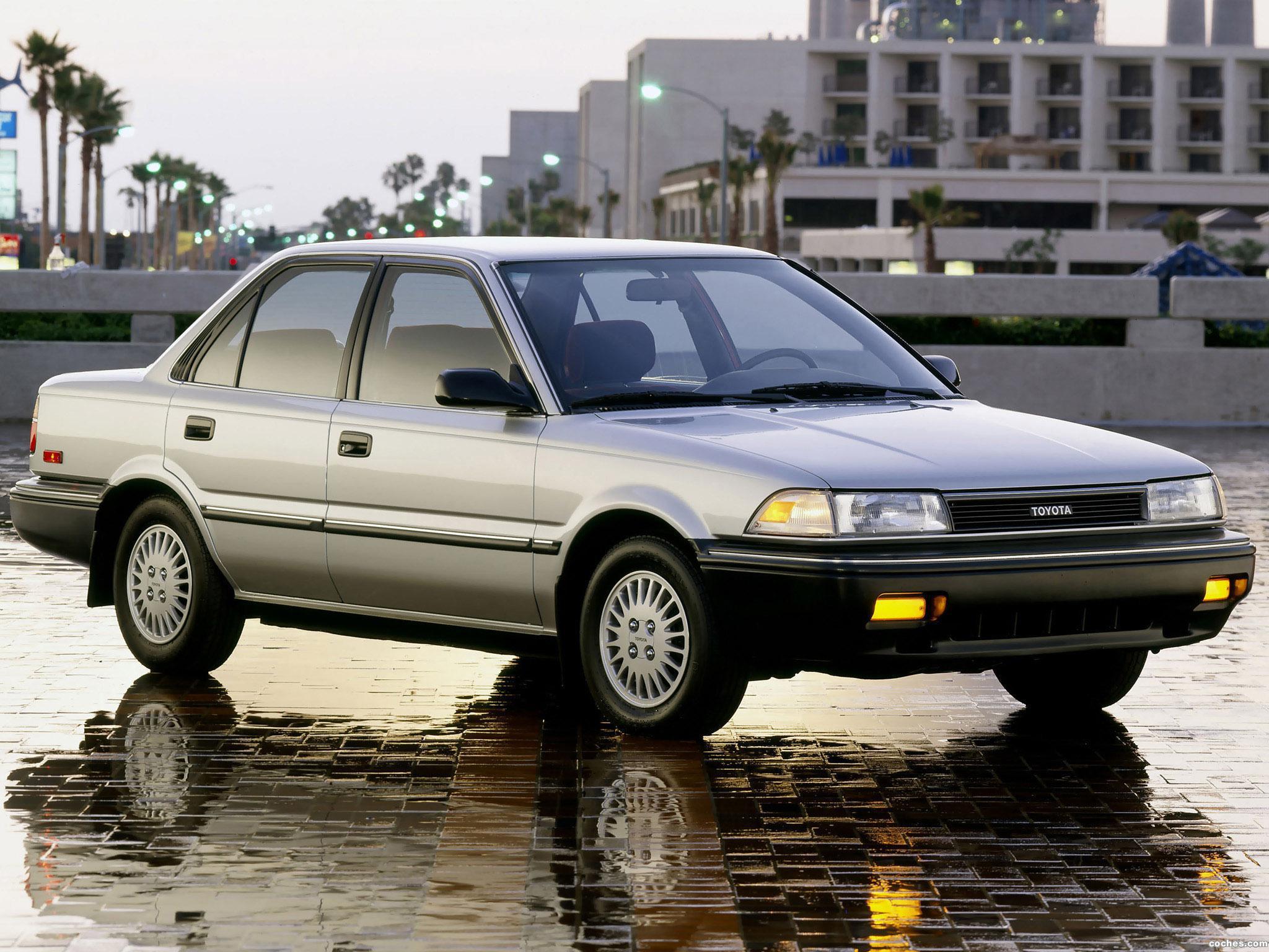Foto 0 de Toyota Corolla Sedan Deluxe USA 1987